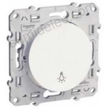 Pulsador simbolo luz S520256 10ax serie odace schneider