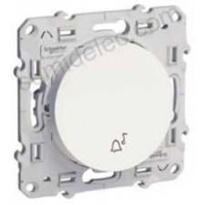 Pulsador simbolo campana S520246 10ax serie odace schneider