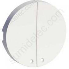Tecla doble visor led S520298 serie odace schneider