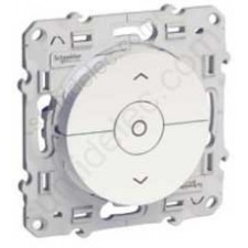 Interruptor con tecla de paro S520208 serie odace schneider