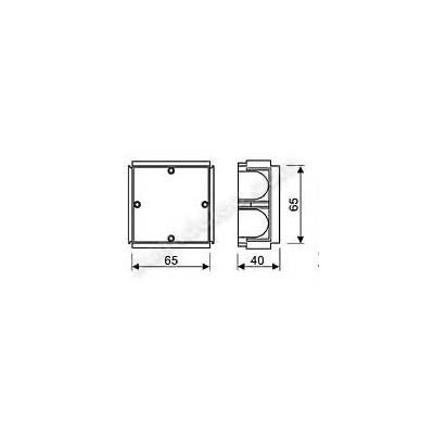 Caja universal Solera 6625 enlazable...