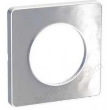 Marco 1 elemento aluminio martele S520802k odace touch schneider