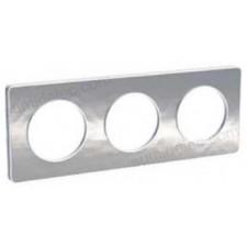 Marco 3 elementos aluminio martele odace touch schneider