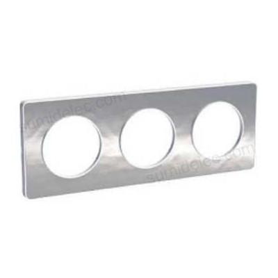 Marco 3 elementos aluminio martele...
