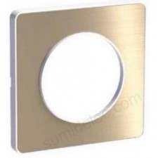 Marco 1 elemento bronce cepillado S520802L odace touch schneider