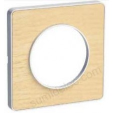 Marco 1 elemento nordic madera S520802M odace touch schneider