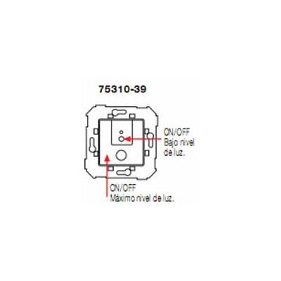 Conmutador regulador 2 niveles luz...
