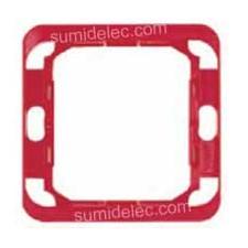 Pieza intermedia roja serie 75 Simon 75903-39