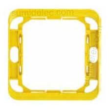 Pieza intermedia amarillo serie 75 Simon 75908-39