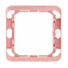 Pieza intermedia rosa serie 75 Simon 75909-39