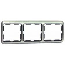 Marco 3 elementos aluminio serie 75 simon 75630-33