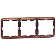 Marco 3 elementos madera serie 75 simon 75630-34