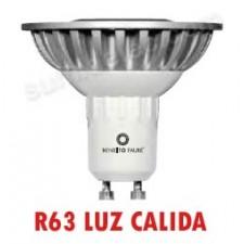 Bombilla R63 GU10 LED S-Line 6W luz cálida Sharp