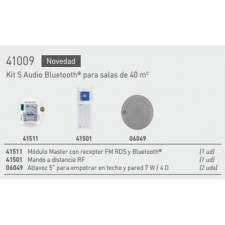 Kit hilo musical EGI 41009 S Audio Bluetooth para 40 metros