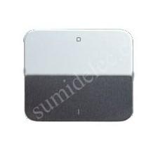 Tecla interruptor bipolar aluminio simon 75