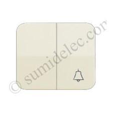 Tecla grupo 1 conmutador 1 pulsador campana marfil simon 75