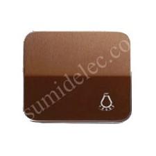 Tecla pulsador simbolo luz bronce simon 75
