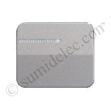 Tecla interruptor conmutador luminoso simon 75 gris