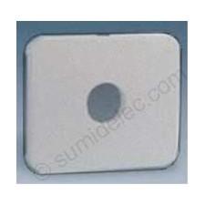Tapa pulsador conmutador llave gris 75057-35 simon 75