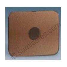 Tapa pulsador conmutador llave bronce 75057-36 simon 75