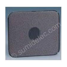 Tapa pulsador conmutador llave grafito 75057-38 simon 75