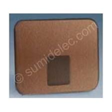 Tapa toma telefono bronce 75062-36 serie 75 simon