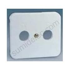 Tapa toma r-tv aluminio 75053-33 serie 75 simon