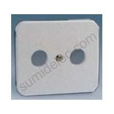 Tapa toma r-tv gris 75053-35 serie 75 simon
