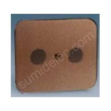 Tapa toma r-tv bronce 75053-36 serie 75 simon
