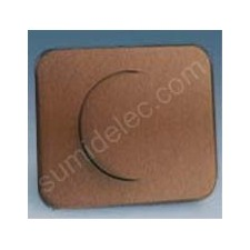 Tapa boton regulador electronico bronce 75054-36 serie 75 simon