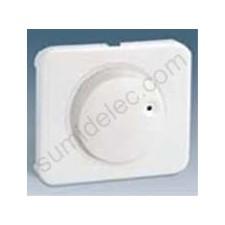 Tapa boton regulador electronico luminoso blanco serie 75 simon