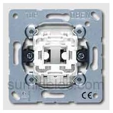 Pulsador conmutador unipolar Jung 533u 10ax 250v serie ls990
