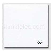 Tecla pulsador simbolo luz ls990 blanco jung ls990lww