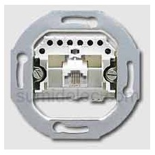 Toma conector telefono rj11 jung uae4upo 4 polos serie ls990