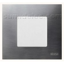 Funda intercambiable 1 elemento inox gama metal simon 27 play