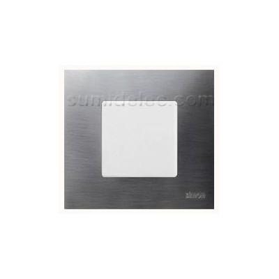 Funda intercambiable 1 elemento inox gama metal simon 27 - Simon 27 precio ...