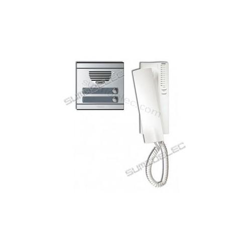 Kit portero tegui 375012 serie 7 para 2 viviendas precio - Telefono portero automatico ...