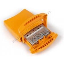 Amplificador de mástil televes 5357 3e 1s BI BIII FM U