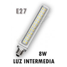 Lámpara PL Samsung de LED luz intermedia 8W E27