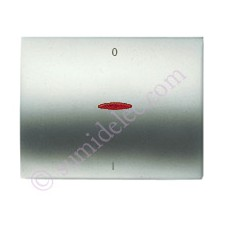 Tecla visor interruptor bipolar 8401.4 tt titanio olas niessen