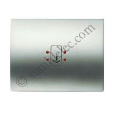 Tecla visor interruptor tarjeta 8414 tt titanio serie olas niesse