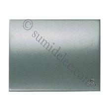 Tecla para pulsador simbolo luz 8404.2 ap acero perla olas niesse