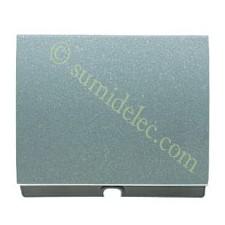 Tapa salida cable pulsador tirador 8407ga gris artico olas niess