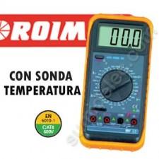 Multímetro digital 460064 sonda temperatura Proiman
