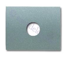 Tapa para toma altavoz 8457ga gris artico Olas Niessen