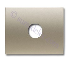 Tapa para toma altavoz 8457 CS cobre saten Olas Niessen