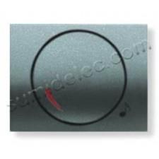 Tapa boton potenciometro 8459ga gris artico Olas Niessen