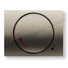 Tapa boton potenciometro 8459 CS cobre saten Olas Niessen