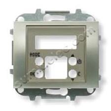 Tapa termostato digital 8440.5 nc niquel cava Olas Niessen