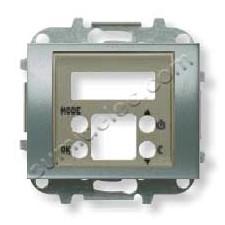 Tapa termostato digital 8440.5 ap acero perla Olas Niessen